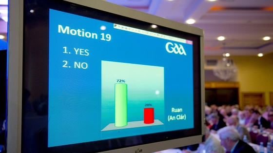 GAA Annual Congress 2011 - Saturday 16th April