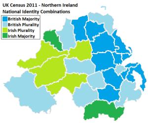 National Identity Majorities and Pluralities