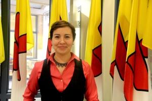Sandra Inutiq, An Coimisinéir Teanga, Nunavut.
