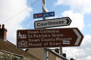 800px-Church_Street_road_signs_Downpatrick_February_2010