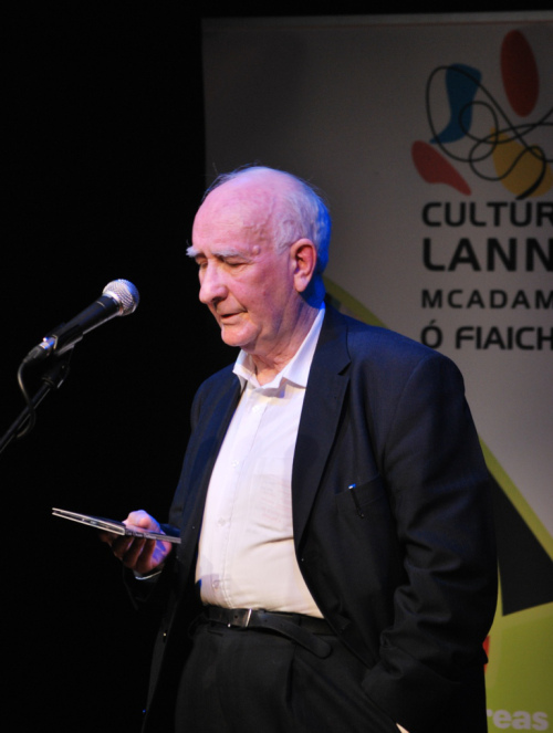 Dr. Padraig O Baoighill as Rann na Feirste, údar agus Uachtarán 'An tUltach'