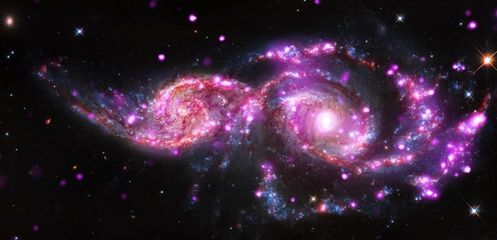 NGC2207andIC2163