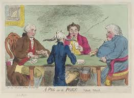 Fuist a imirt. James Gillray, 1788.